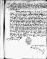 SCRC ID: 3033. Patente for fray Juan Chito to join missionary party to Florida, 1689.