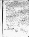 SCRC ID: 3032. Patente for fray Joan Vascon to join missionary party to Florida, 1689.
