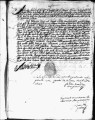 SCRC ID: 3047. Patente for fray Francisco de la Coba to join missionary party to Florida, 1689.