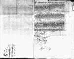 SCRC ID: 3069. Patente for fray Alonso Valdobiros to join missionary party to Florida, 1696.