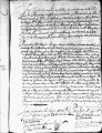 SCRC ID: 3105. Patente for fray Fernando Flores to join missionary party to Florida, 1721.