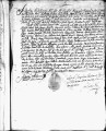 SCRC ID: 3031. Patente for fray Joseph de Rueda to join missionary party to Florida, 1689.