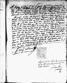SCRC ID: 3034. Patente for fray Pedro Trujillo to join missionary party to Florida, 1689.