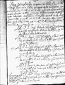 SCRC ID: 3138. Minuta listing missionaries bound for Florida, 1737.
