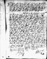 SCRC ID: 3035. Patente for fray Bartholomé de los Ríos to join missionary party to Florida, 1689.