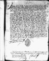 SCRC ID: 3043. Patente for fray Manuel Sánchez to join missionary party to Florida, 1689.
