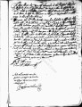 SCRC ID: 3023. Patente for fray Francisco de Legarda to join missionary party to Florida, 1673.