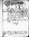 SCRC ID: 3025. Certification of departure for fray Juan Moreno's party for Florida, 1673.