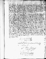 SCRC ID: 3114. Patente for fray Pedro Bogajo to join missionary party to Florida, 1721.