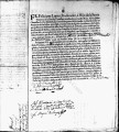 SCRC ID: 3066. Patente for fray Thomas Ordoñez to join missionary party for Florida, 1696.