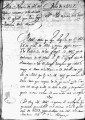 SCRC ID: 3134. Order of embarkation for missionaries for Florida, 1737.