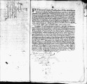 SCRC ID: 3071. Patente for fray Felipe Maldonado to join missionary party to Florida, 1696.