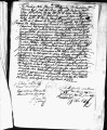 SCRC ID: 3039. Patente for fray Francisco Thomas to join missionary party to Florida, 1689.