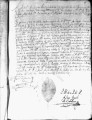 SCRC ID: 3111. Appointment of fray Blas Pulido to lead missionary party to Florida, 1722.