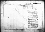 A document by Baltasar Nuñez, resident of the village of Guadalcanal on the title of Juan de...