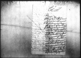 A letter concerning the quarters in Baza by Joseph Francisco Montalvo Villanueva.