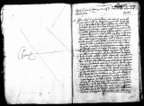 Document written by Tellez (escribano) to the King of Spain concerning Viceroy Antonio de...