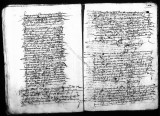 Copy by Gaspar de Calderon (escribano) of original instructions to officials at the Hacienda Real...