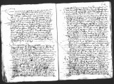 Document  by Cristobal de Heredia (scribe) and Diego Ramirez (judge) on an interrogatorio...