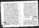 Document by Diego Ramirez (juez) and Cristobal de Heredia (scribe) on the interrogation of...