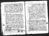 Document by Diego Ramirez (juez) and Cristobal de Heredia (scribe) on the interrogation of Rodrigo...