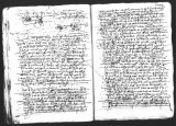 Document by Diego Ramirez (juez) and Cristobal de Heredia (scribe) on the interrogation of Alonso...