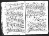 Document by Diego Ramirez (juez) and Cristobal de Heredia (scribe) on a visit to Caxa of three...