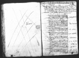 Ledger account by Fernando de Vergara (scribe) of all deposits in Caxa de Tres Llaves over...