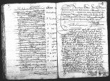Document by  Cristobal de Heredia (escribano) giving testimony by Fernando de Vergara (scribe)...