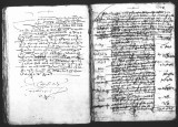 Document by Fernando de Vergara (scribe) containing the concluding testimonial concerning visita...