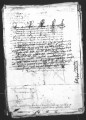 Copy of a document by Antonio de Turcios (escribano mayor) and Antonio de Mendoza, Viceroy de...