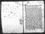 Document by Antonio de Turcios (escribano mayor) of the transfer fo a cedula encomienda given to...