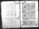 Document by Antonio de Turcios (escribano) forbidding Indians from riding horses or carrying...