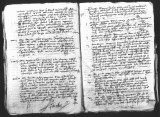 Interrogation of Andres de Barrios (testigo) concerning abuses of power by Viceroy Antonio de...
