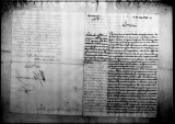 A document by Antonio Filangieri discussing the King of Spain's concerns to the Governor of Puerto...