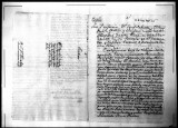 A certification for Joachin de la Torre, soldier of the Regimento de Infanteria de Napoles in...