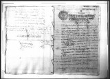 A certification signed by Gregorio Sandoval for Pedro de la Torre for his promotion in the...