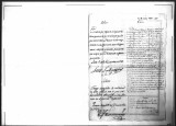 A petition for promotion for Juan Antonio Bullosa, soldier of the Regimento de Infanteria de...