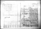 A petition for promotion for Francisco de la Cruz Bruno, soldier of the Regimento de Infanteria de...