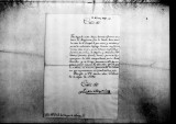 A letter to the Conde del Campo de Alange about the arrival of officers for the Regimento de...