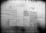 A letter on his service record by Pedro Baldorioti, captain of the infantry regiment Napoles in...