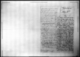 A petition for promotion for Josef Maria Argumosa, soldier of the Regimento de Infanteria de...