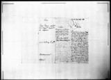 Petitions for promotion for Josef Orsini, soldier of the Regimento de Infanteria de Napoles in...
