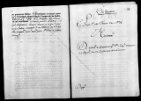 Documents on the royal appointment of Joaquin Osorio to subteniente de granaderos in the...