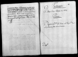 Documents on the royal appointment of Joseph Varela to the Regimiento Fixo de Infanteria in...