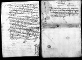 Documents transfering informational autos and other procedures against Captain Gaspar Gastaño de...