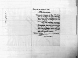 SCRC ID: 3280. Hoja de servicio of Juan Bravo's transfer and promotion, 1790.