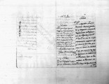 SCRC ID: 3338. Hoja de servicio with recommendations for Agustin Lassala, 1789.