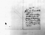 SCRC ID: 3419. Noticia of promotion of Geronimo Giron to brigadier, 1780.