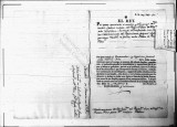 SCRC ID: 3274. Promotion and transfer of Carlos Sabini, 1790.